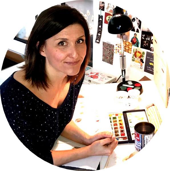 Cécile Hudrisier, autrice - illustratrice